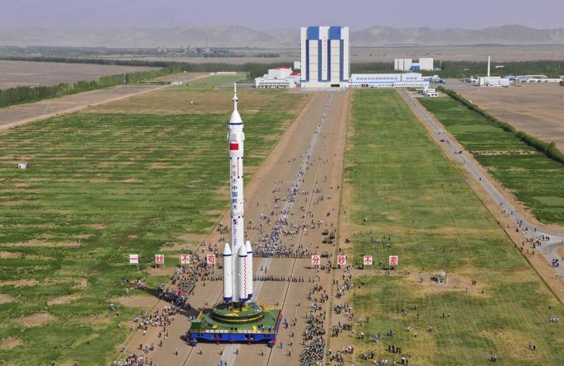 Космическая станция TIANGONG -