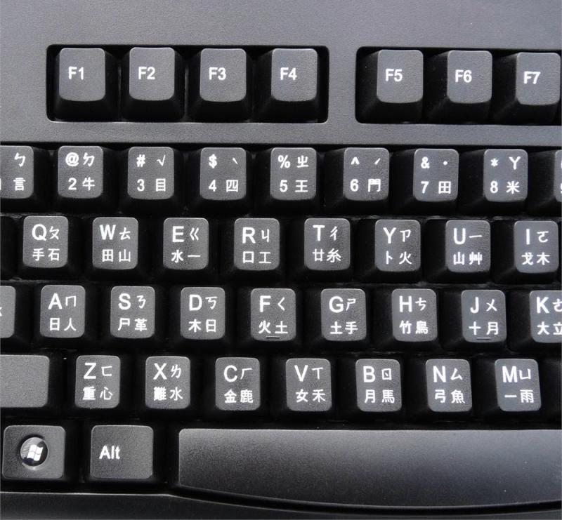 Китайская клавиатура для ввода графем